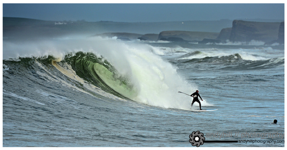 Ireland East Strand Surfing SUP